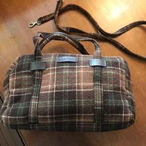 Lauren Ralph Lauren Flannel Bag